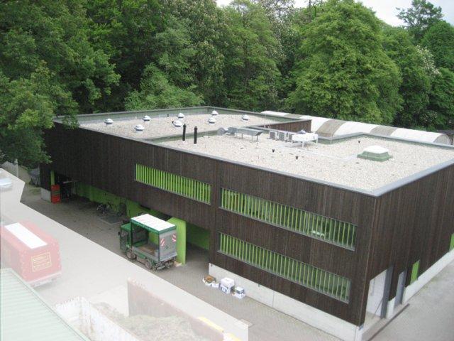 Neubau Futtermeisterei, Zoo Dresden