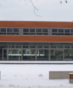 Neubau Kreuzschule Dresden, B-Bau Turnhalle und Tagesschulbereich