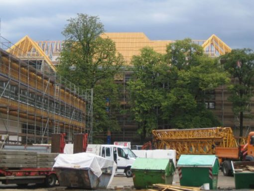 Sanierung Kreuzschule Dresden, D-Bau Flügel Eisenacher Straße