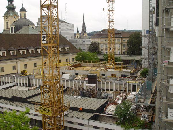 Neubau Klinikum Linz, P-Bau Kapelle