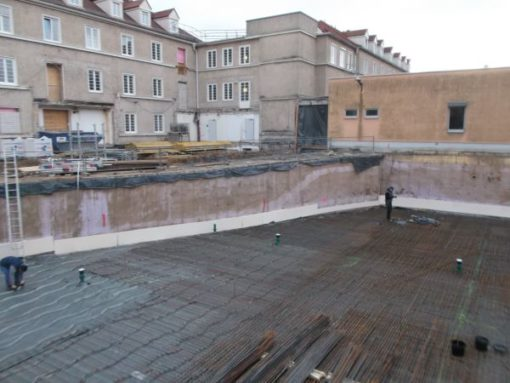 Neubau und Sanierung Krankenhaus Dresden-Neustadt , ITS