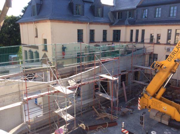 Umbau und Sanierung Amtsgericht Marienberg