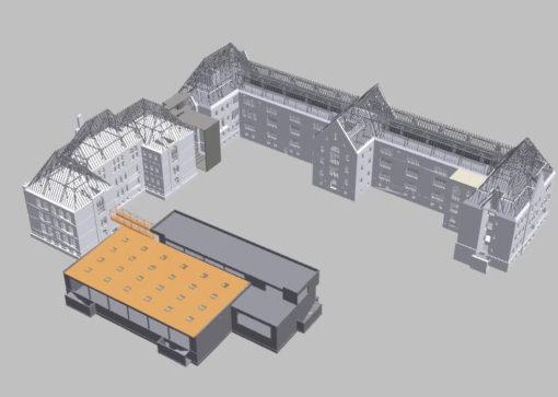 Neubau und Sanierung Kreuzschule Dresden