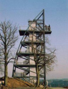 Neubau barrierefreier Aussichtsturm Rathmansdorf