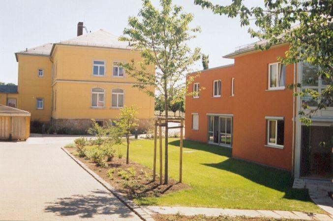 Neubau und Sanierung Wohnhof Gohlis